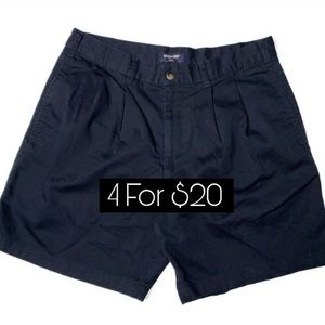 Dockers Khakis Shorts Navy Blue Men's Size 34""